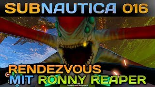 SUBNAUTICA [016] [Rendezvous mit Ronny Reaper] Let's Play Gameplay Deutsch German thumbnail