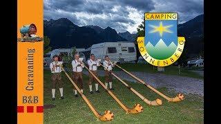 Österreichische Alpen -  Camping Sonnenberg - B&B Caravaning