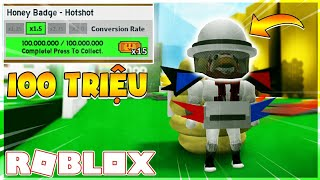 ROBLOX | The CHALLENGE of REACHING 100 MILLION of HONEY CONE and BUY 25 MILLION | Bee Swarm Simulator