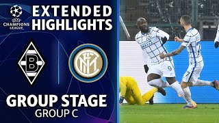 Mönchengladbach vs. Inter Milan: Extended Highlights | UCL on CBS Sports