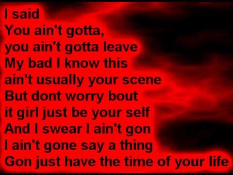 Kid Ink  Time of Your Life Lyrics On Screen