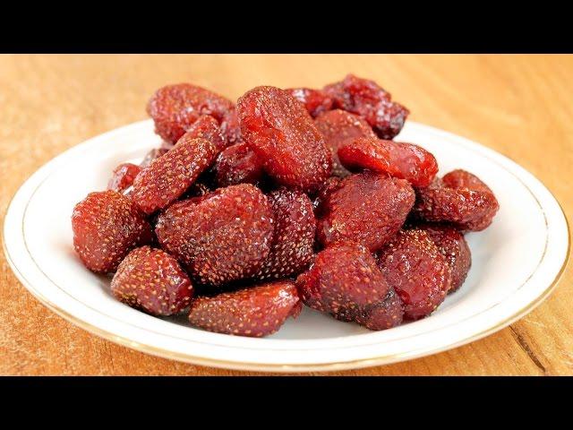 Цукаты из клубники - делаем сами! / How to make Candied strawberries ♡ English subtitles
