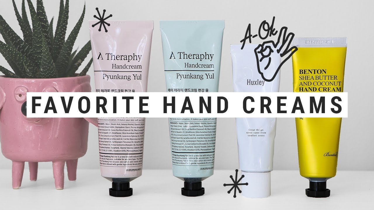 Best Korean Anti Aging Products 2020 my top four favorite korean hand creams!   YouTube