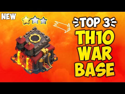 TOP 3 BEST NEW TH10 WAR 2019! *WITH LINK* COC Town Hall 10 Anti 2 Star - Clash Of Clans [Part 3]