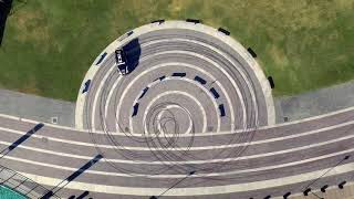 Dubai racing drifting Vs police cars
