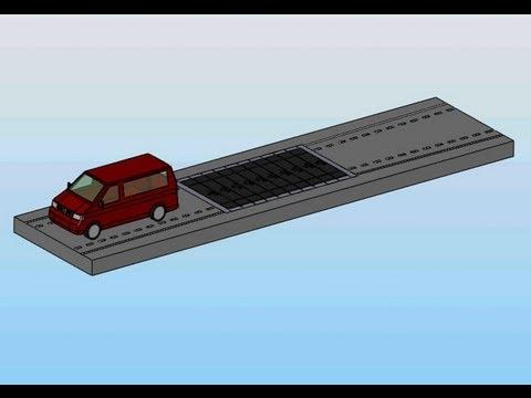 Energy saving, Road power station, Elektrizität,  evolution in the energy sector, energie,