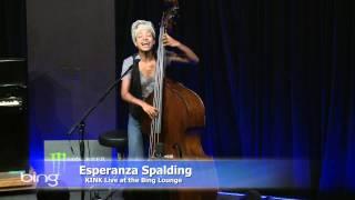 Esperanza Spalding - Look No Further (Bing Lounge)