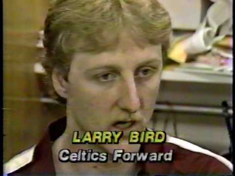 Clark Booth Reports: Celtics blow out 76ers, Game 1 1982 NBA Eastern Conf finals (121-81).