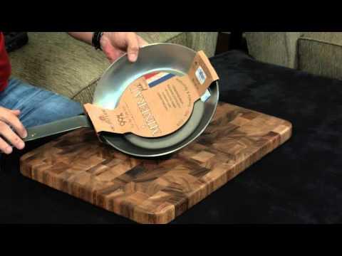 The Best Carbon Steel Pan — De Buyer Review