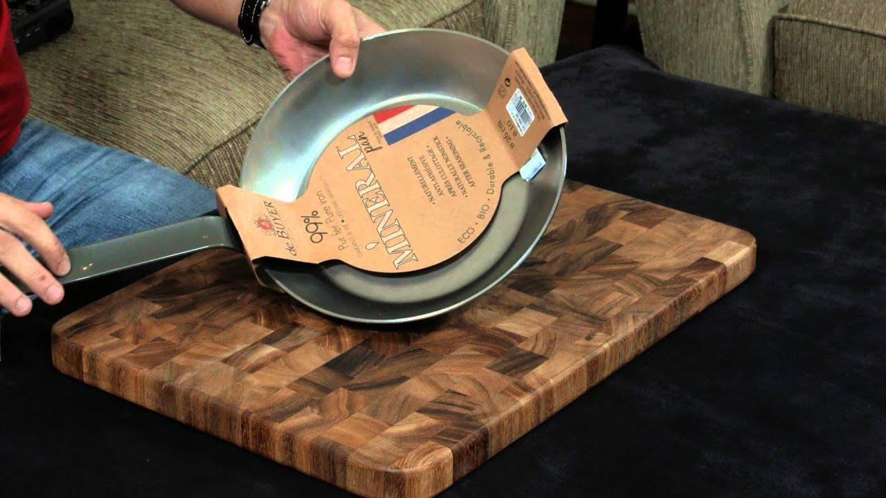 the best carbon steel pan de buyer review youtube. Black Bedroom Furniture Sets. Home Design Ideas