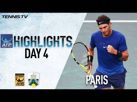 Highlights: Nadal, Verdasco, and Del Potro Move On In Paris 2017
