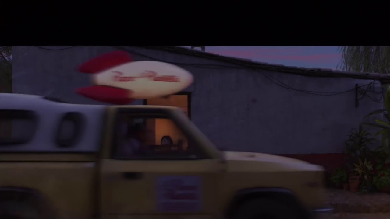 Coco Pizza Planet Truck Easter Egg Youtube