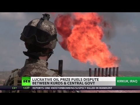Blood for Oil: Fuel frenzy could spark war as Kurds seek secession from Iraq