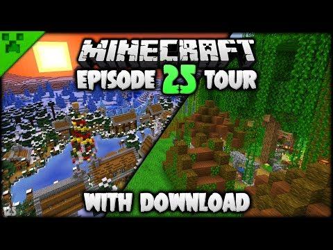 Python's World Tour & Download (#5) | Python's World (Minecraft Survival Let's Play S2) | Episode 25