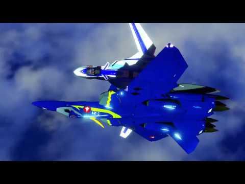 マクロスプラス YF-21-SD-YF19 デモ01 ずっと公開するつもりのなかったもの