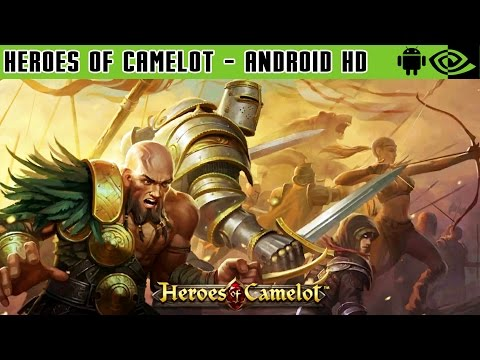Heroes of Camelot - Gameplay Nvidia Shield Tablet Android 1080p (Android Games HD)