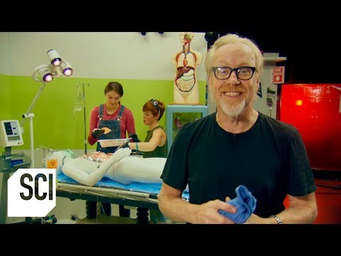 Can A Patient's Fart Ignite During Laser Surgery? | MythBusters Jr.