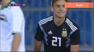 Argentina vs Iraq 2018 full match highlights HD