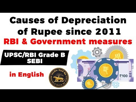 Depreciation of Indian Rupee since 1991 - Know reasons behind it and steps taken by RBI & Government