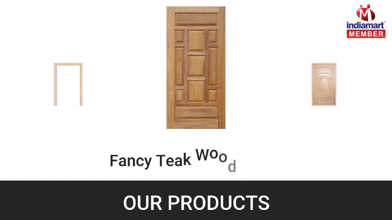 Pvc kitchen cabinet in hyderabad telangana india indiamart - Teak Wood Doors And Moulded Doors By Sai Srinivasa Wood Doors Hyderabad