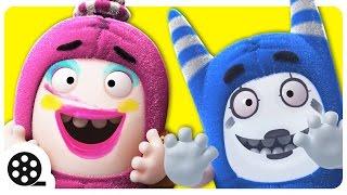 Lustige Gesichter | Cartoons Für Kinder | Die Oddbods Zeigen