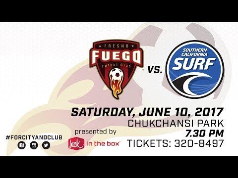 Fresno Fuego vs Southern California Surf