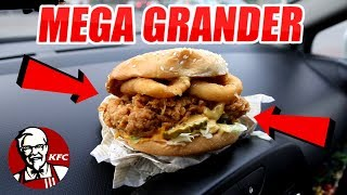 TEST KFC NOWY BURGER KENTUCKY GOLD GRANDER - CZY JEST SMACZNY ?