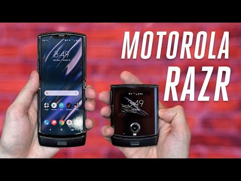 Motorola resurrects the Razr as a foldable Android smartphone