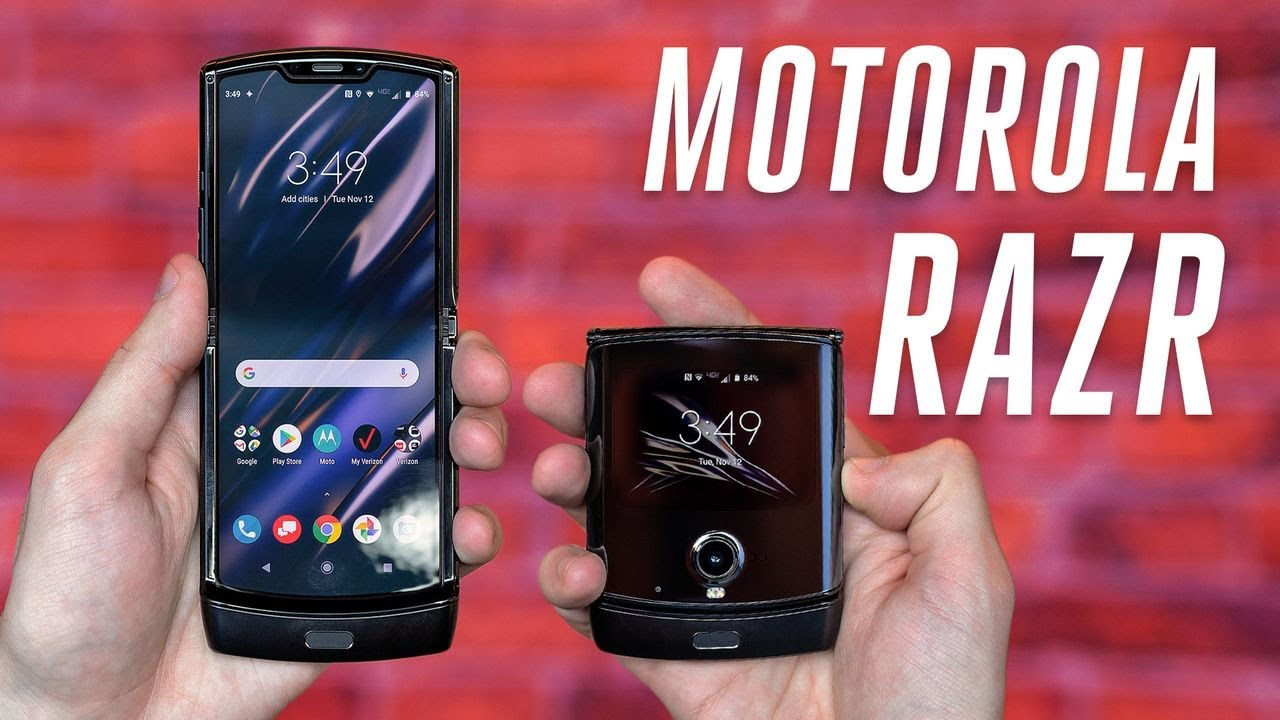 Best Flip Phone 2020.Motorola Razr Hands On With The New Foldable Android Phone