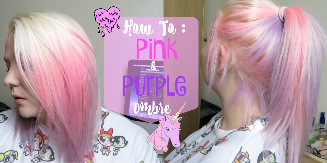 Pink To Purple Ombre Hair Hair Color Ideas And Styles For 2018