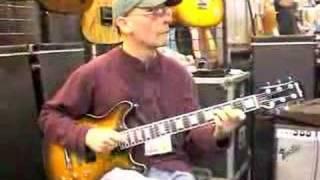 Carruthers Guitars at NAMM 2008 - Jody Fisher plays CSA