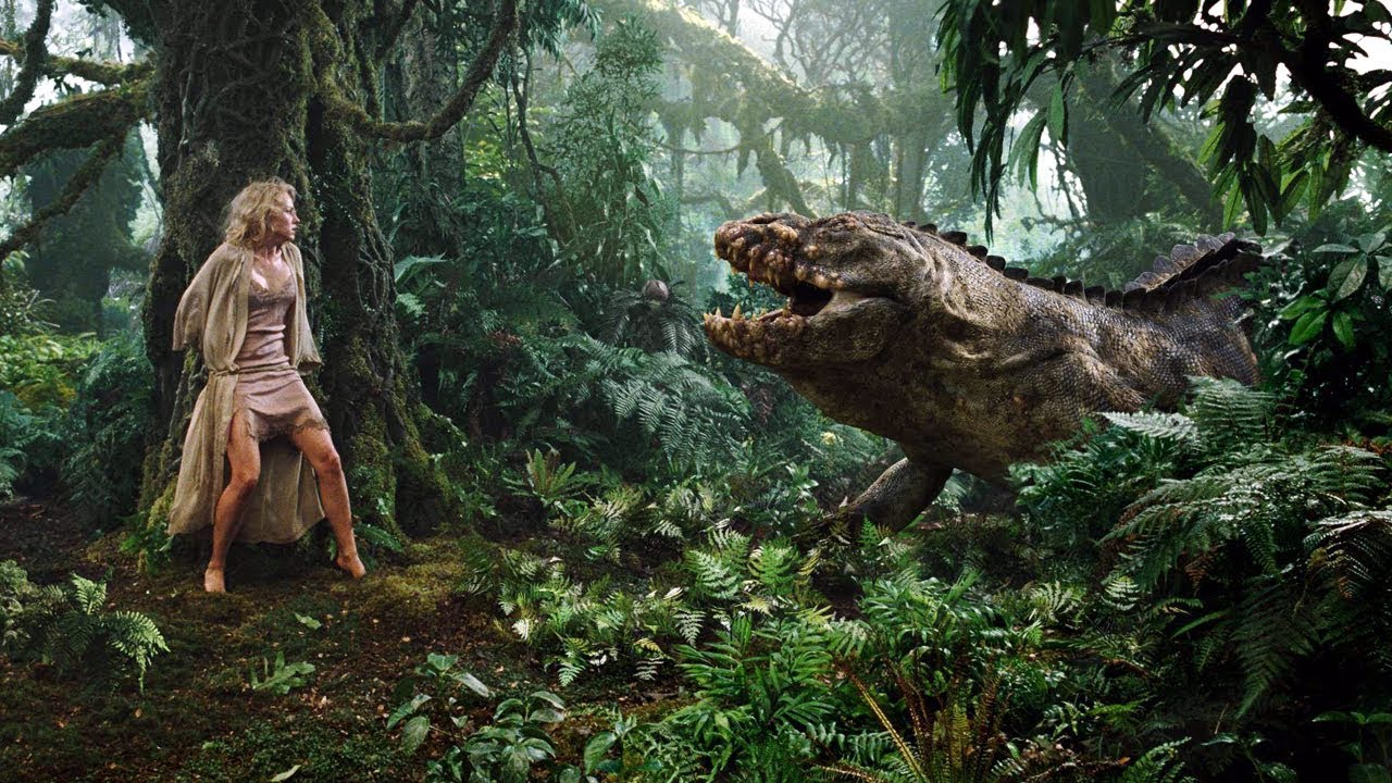 Kỳ Đà Khổng Lồ Tấn Công Cô Gái - King Kong (2005) | Best Scene