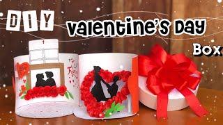 DIY Valentine's Day Gift ideas | Handmade valentine box |Sokmeng Art And Craft
