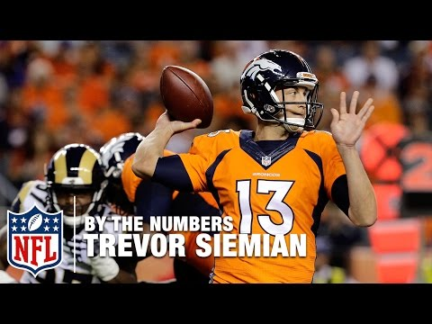 Trevor Siemian by the Numbers | NFL Network
