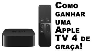 Como ganhar um Apple TV de graça (funciona mesmo)