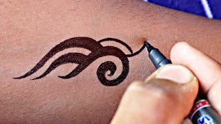 Amazing tribal tattoo design | best tattoo ideas for you