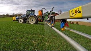 *4K* Hightech Spraying in Switzerland