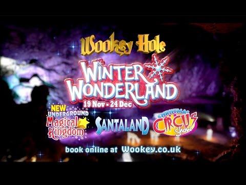 Winter Wonderland at Wookey Hole