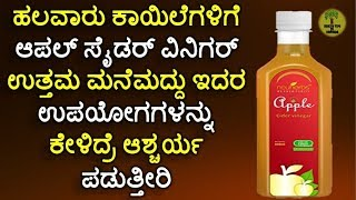 Health Benefits of Apple Cider Vinegar in kannada