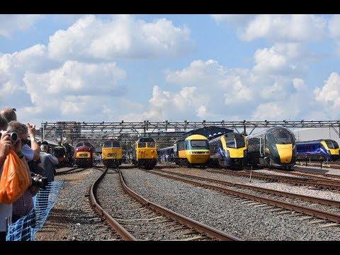 UK RAILWAYS 2017 UNSEEN FOOTAGE