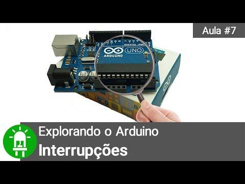 Explorando O Arduino - Aula 7 - Interrupções