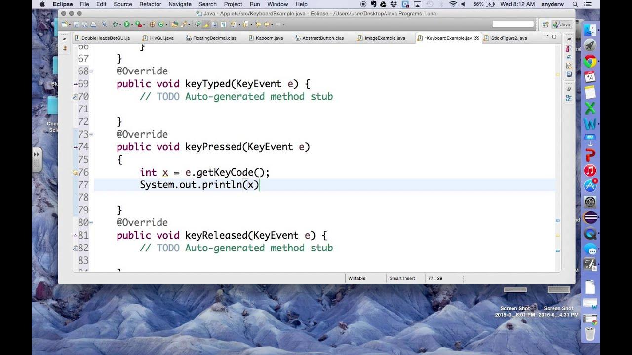 Keylistener youtube keylistener baditri Image collections