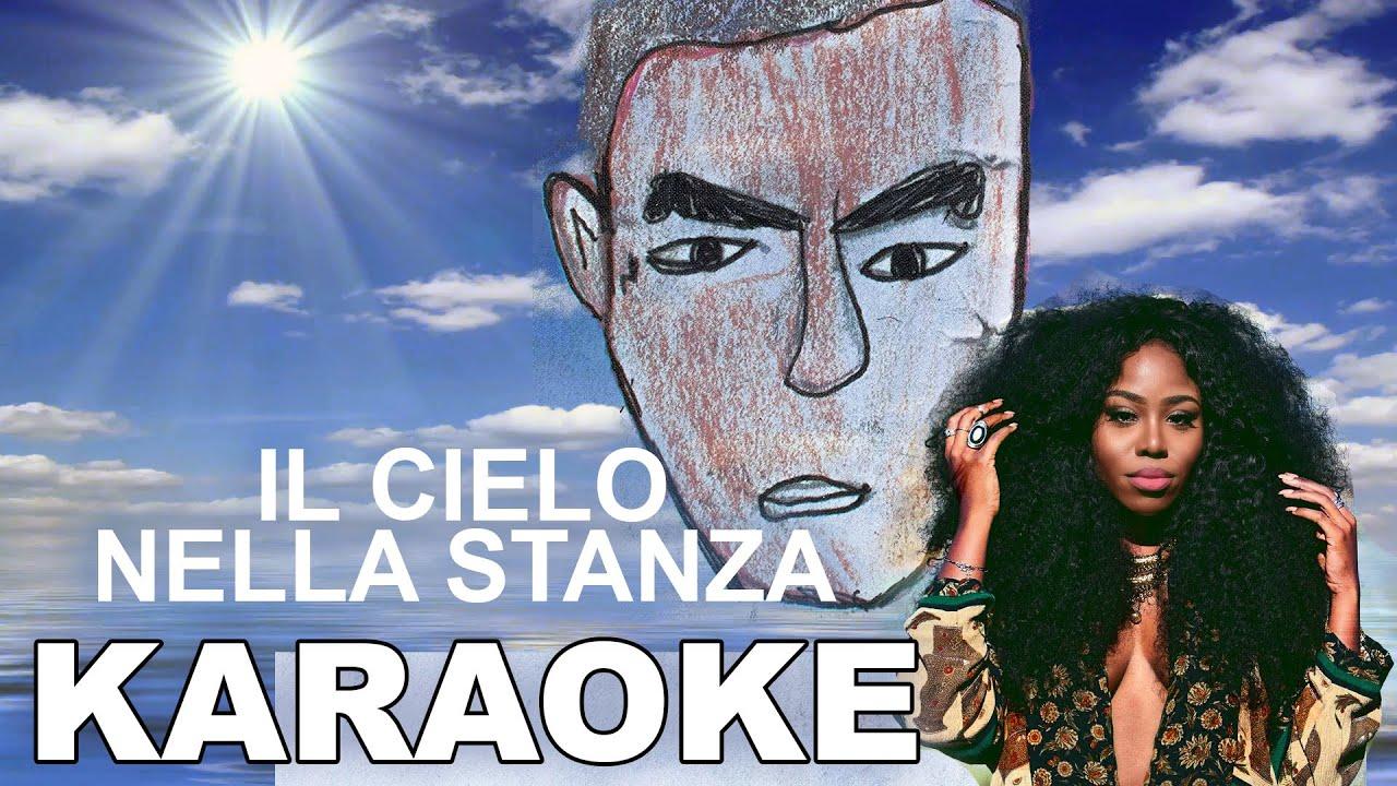 Salmo ft nstasia il cielo nella stanza karaoke for Il cielo nella stanza testo