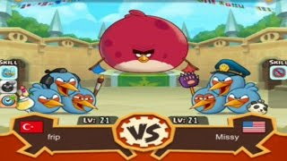 Angry Birds Fight - THE BLUES MASTER CUP ARENA Gameplay Walkthrough!