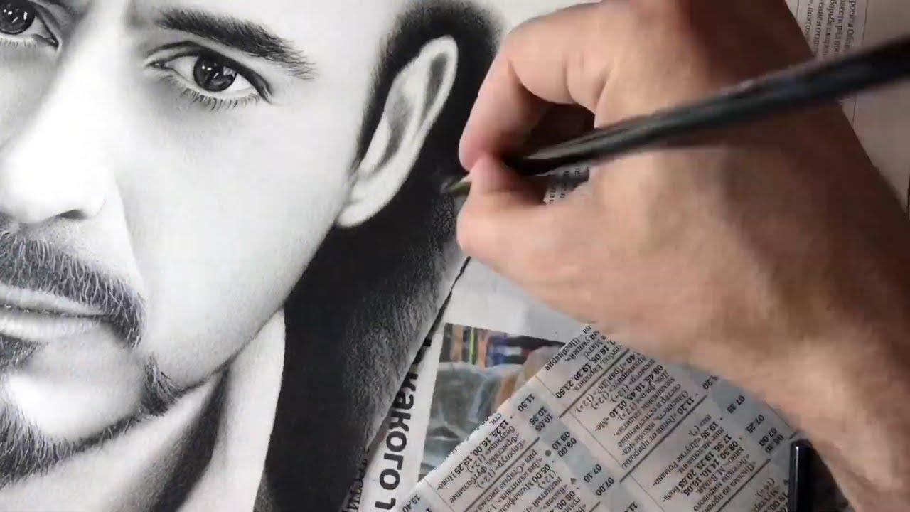 Drawing Robert Downey Jr.