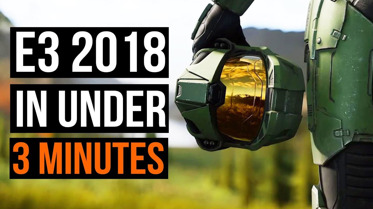 E3 2018 Montage - Everything You Need To See In Under 3 Minutes