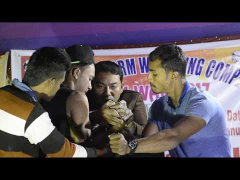 2k17 Best Arm Wrestling Competition (TONMOY VS SUNNY) At Lumding.