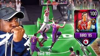 100 OVR LARRY BIRD IS INSANE! (February Master) NBA Live Mobile 20 Season 4 Gameplay Ep. 32