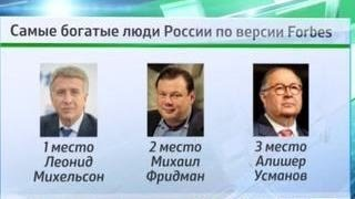 Forbes назвал самого богатого человека России: им впервые стал Леонид Михельсон