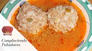 Albondigas (caldo)- Receta Mexicana (complaciendo Paladares)